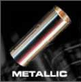 cylindrical metal 'slide' used to play blues guitar